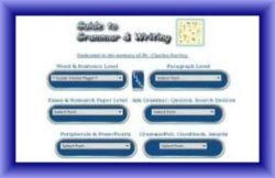 Guide To Grammar and Writing w frame250