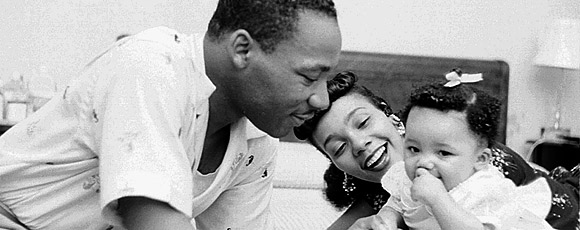 Martin Luther King Jr. & Family